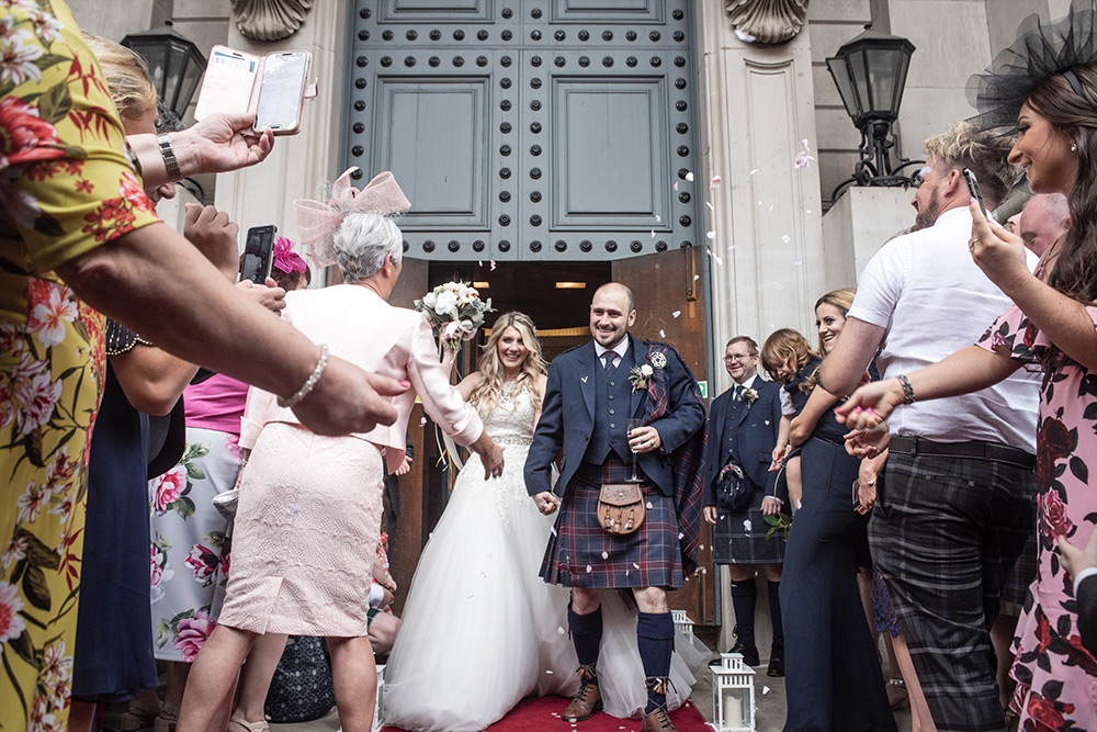 surgeons hall edinburgh wedding